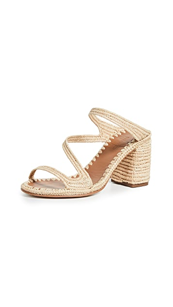 Carrie Forbes Salah 高跟穆勒鞋