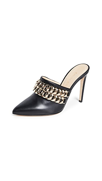 Chloe Gosselin 100mm Eva 穆勒鞋