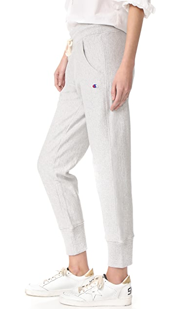 Champion Premium Reverse Weave 罗纹裤脚裤子