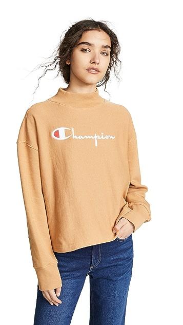 Champion Premium Reverse Weave 高领运动衫