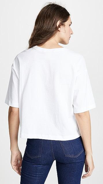 Champion Premium Reverse Weave 长款 T 恤
