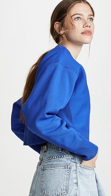 Champion Premium Reverse Weave 短款圆领运动衫