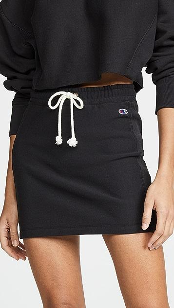 Champion Premium Reverse Weave 罗纹毛圈布半身裙