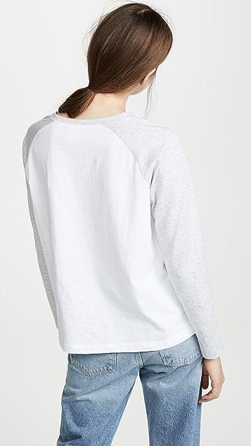 Champion Premium Reverse Weave 长袖 T 恤