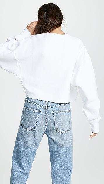 Champion Premium Reverse Weave 裁短运动衫