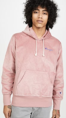 챔피온 Champion Corduroy Hooded Sweatshirt,Elegant Mauve