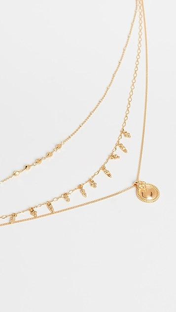 Chan Luu 黄金项链