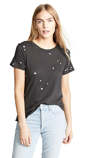Chaser 繁星图案 T 恤