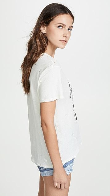 Chaser 薄纱棉质圆领 T 恤