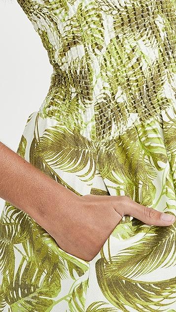 Chaser Beachy 抽褶迷你连衣裙
