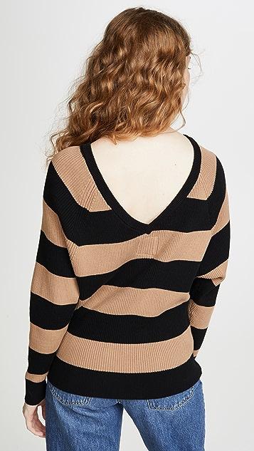 Chaser 罗纹毛衣