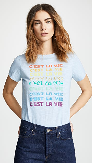 Cinq a Sept Tous Les Jours C'est La Vie T 恤