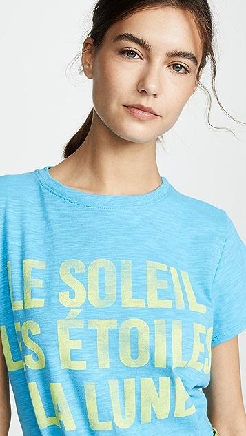 Cinq a Sept Tous Les Jours Celestial T 恤