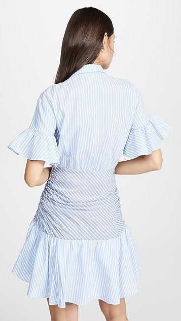 Cinq a Sept Tous Les Jours Stripe Asher 连衣裙