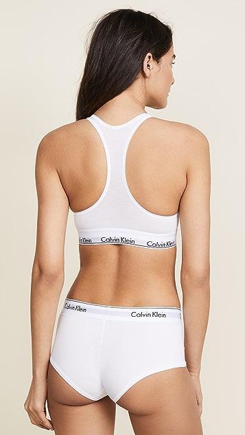 Calvin Klein 钢托文胸 Modern Cotton 休闲文胸