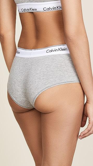 Calvin Klein 钢托文胸 时尚棉质低腰平角内裤