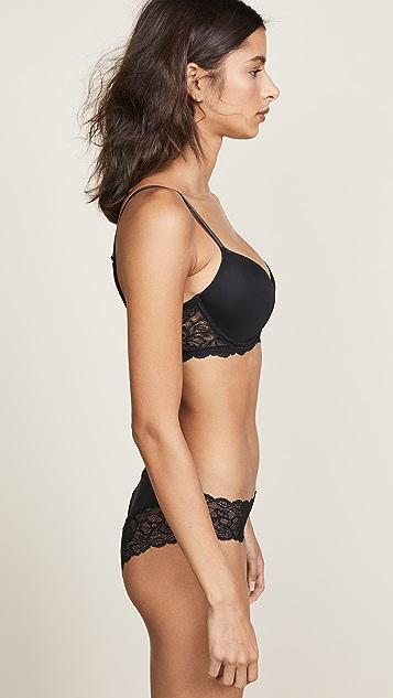 Calvin Klein 钢托文胸 Seductive Comfort Demi Lift Multiway 文胸
