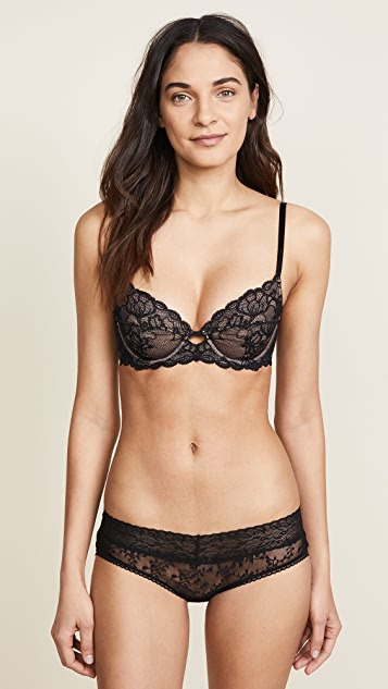 Calvin Klein 钢托文胸 Seductive Comfort 全包覆无衬里文胸