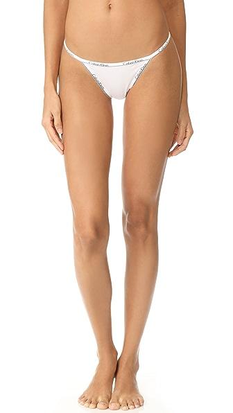 Calvin Klein Underwear Calvin Klein ID 系带丁字裤