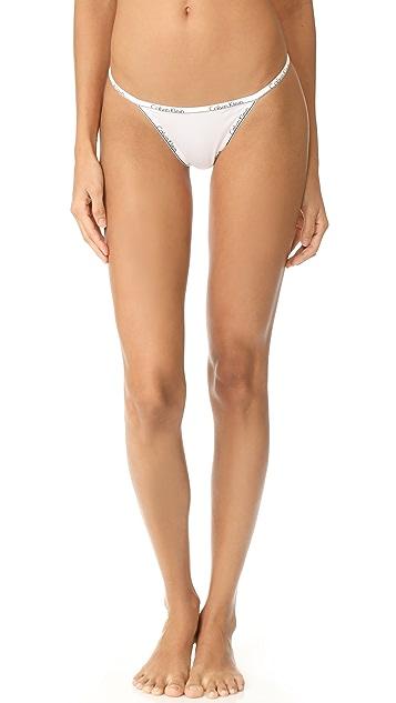 Calvin Klein 钢托文胸 Calvin Klein ID 系带丁字裤