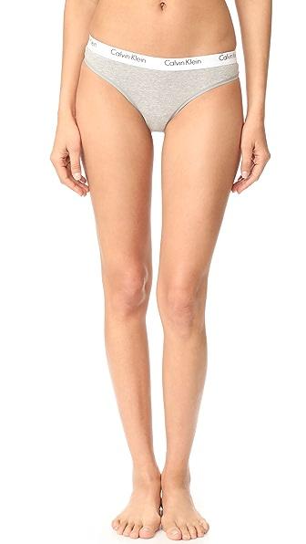 Calvin Klein Underwear CK One 棉质丁字裤