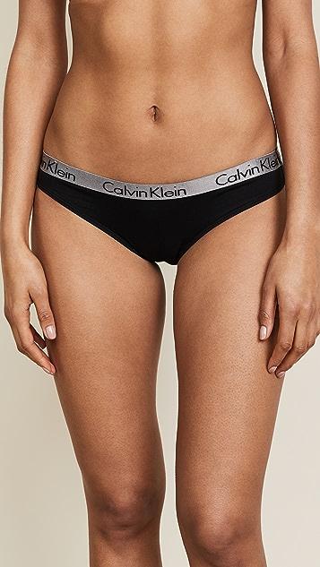 Calvin Klein Underwear Radiant 3 件式棉质比基尼