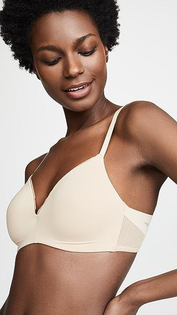 Calvin Klein 钢托文胸 立体薄里衬三角形文胸