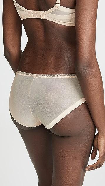 Calvin Klein 钢托文胸 塑形比基尼短裤