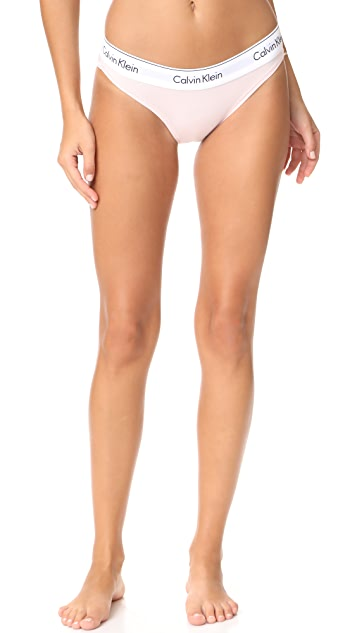 Calvin Klein 钢托文胸 时尚棉质比基尼短裤