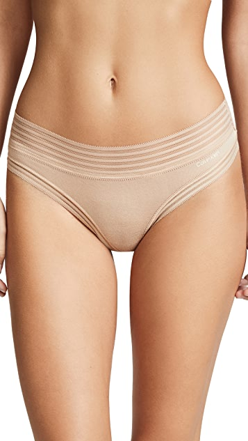 Calvin Klein Underwear 莫代尔纤维丁字裤