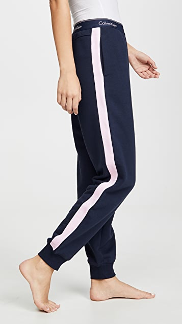 Calvin Klein Underwear 时尚棉质居家慢跑裤