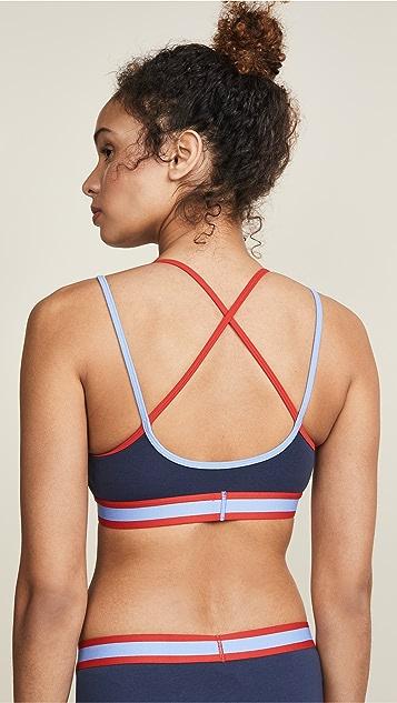 Calvin Klein 钢托文胸 复古吊带休闲文胸