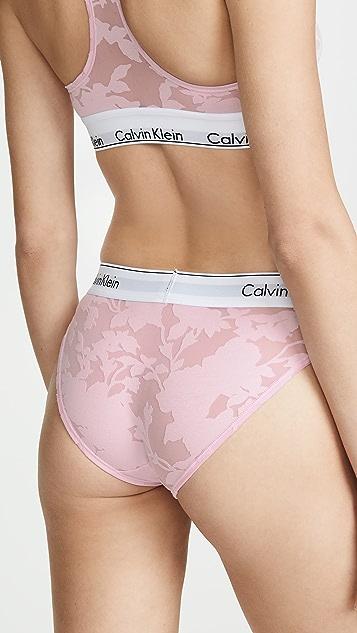 Calvin Klein 钢托文胸 Modern Cotton 比基尼