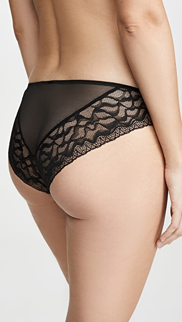 Calvin Klein 钢托文胸 蚀刻蕾丝比基尼内裤