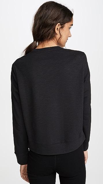 Calvin Klein Underwear 1981 醒目居家长袖运动衫