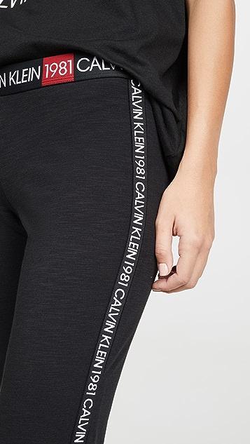 Calvin Klein Underwear 1981 醒目居家打底裤