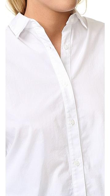 Clu 绑带细节衬衣