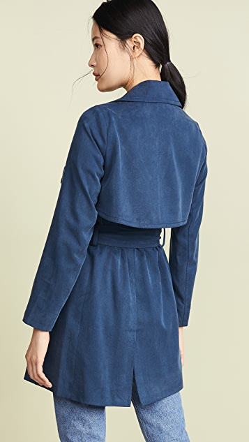 Club Monaco Claudine 双排扣风衣