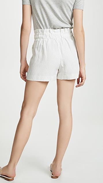 Club Monaco Darcee 条纹短裤