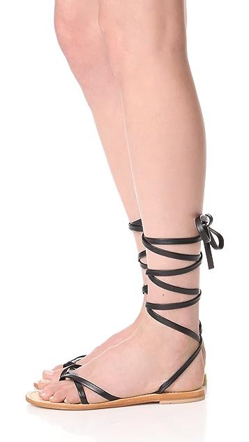 Cornetti Aiano 环绕式凉鞋