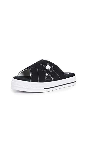 Converse One Star 凉鞋