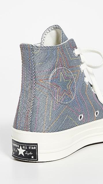 Converse Chuck 70 Rainbow 高帮运动鞋