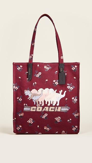 Coach 1941 暗花 Rexy 手提袋