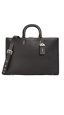 코치 서류 가방 COACH New York Rogue Briefcase,Black
