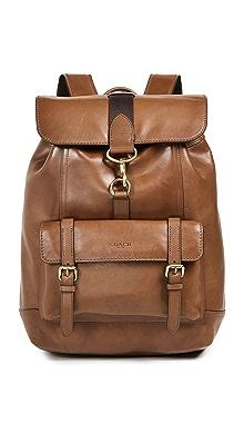 코치 백팩 다크 새들 COACH New York Bleecker Backpack,Dark Saddle