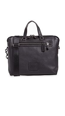 코치 COACH New York Academy Holdall Bag,Black