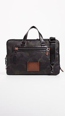 코치 COACH New York Academy Day Bag,Military