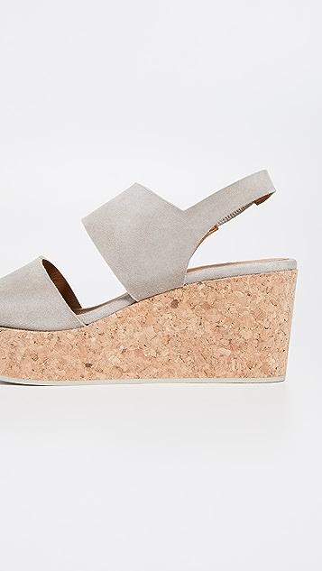 Coclico Shoes 光面厚底凉鞋