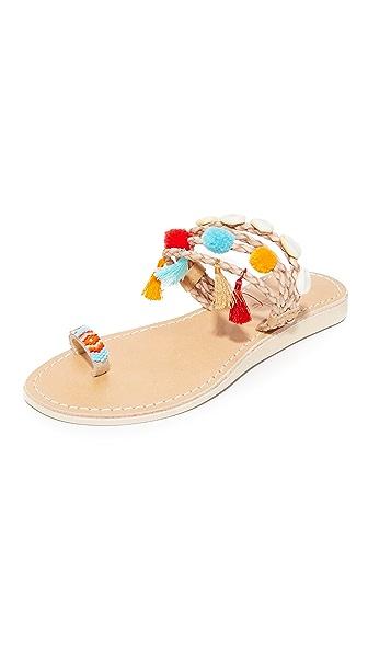 Cocobelle Kopi 趾环凉鞋