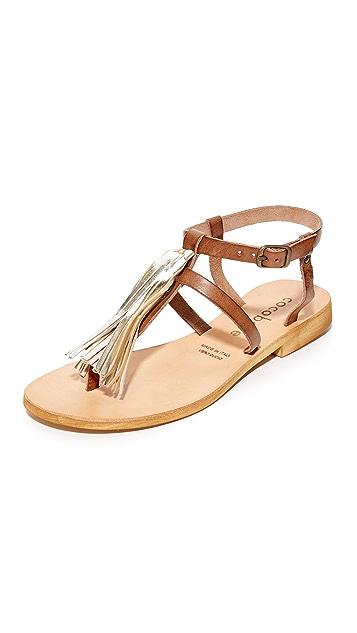 Cocobelle Gallipoli 流苏夹趾凉鞋